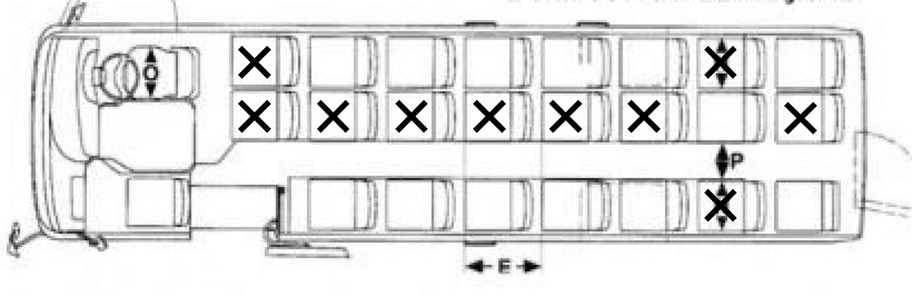 23-seater bus (13 pax)